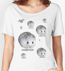 Hamsters Rule Women's Relaxed Fit T-Shirt