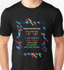 DEMONSTRATOR Unisex T-Shirt