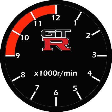 Nissan Skyline GTR Cluster Clock by merlz