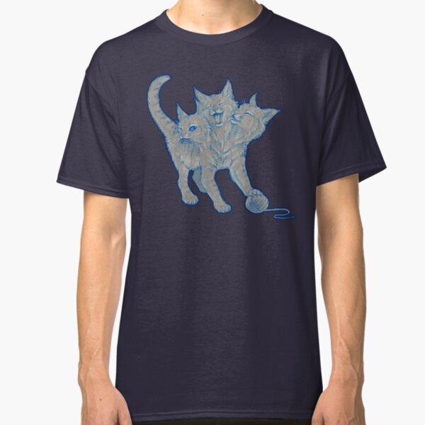 The Mighty... Purrberus! (Original Blue) Classic T-Shirt
