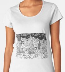 Mage, Wizzard and Sorcerer Women's Premium T-Shirt