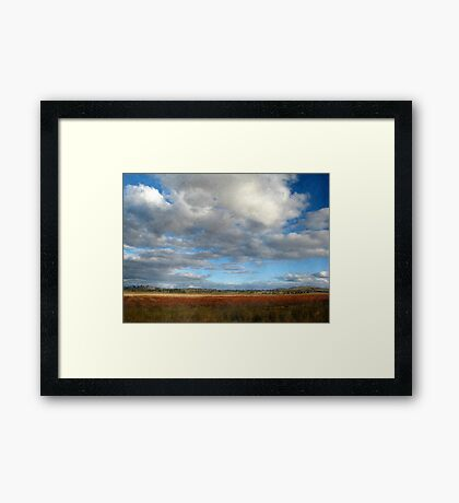 Dangars Lagoon - Northern Tablelands, NSW, Australia Framed Print