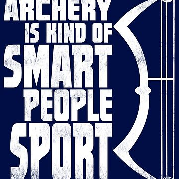 Archery Shirt, Gift for Archers Fathers Day for Dad by niftee