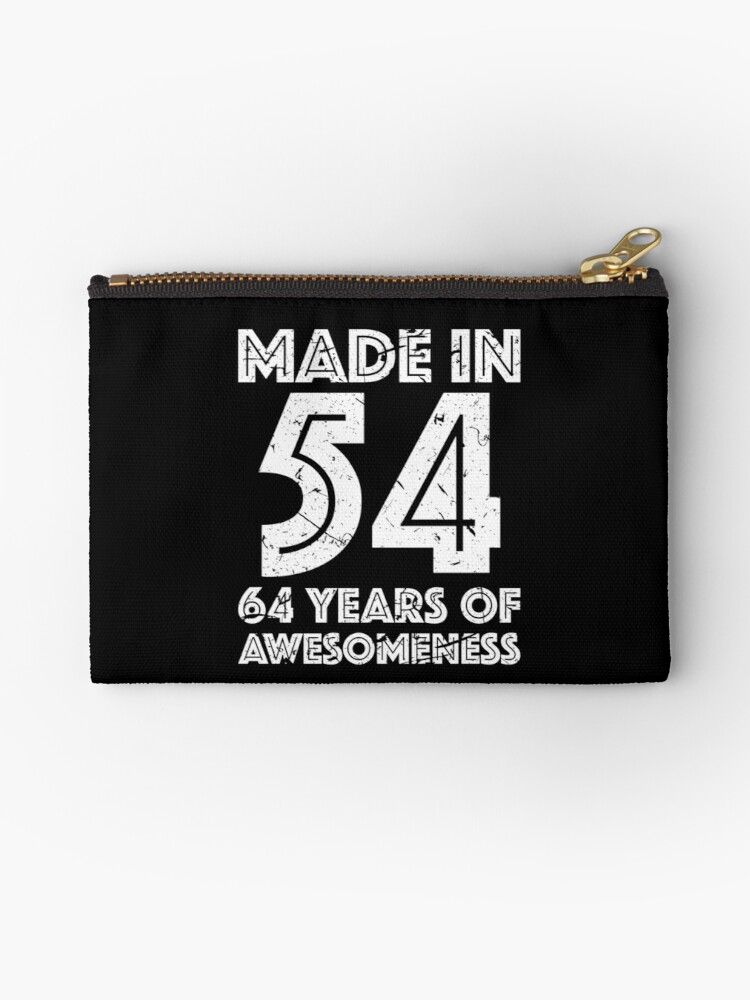 64th Birthday Gift Adult Age 64 Year Old Men Women