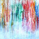 Abstract Rainbow by Kathie Nichols