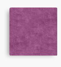 Amethyst Oil Pastel Color Accent Canvas Print