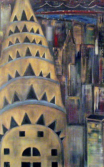 The City  / My  Paintings          by fiat777