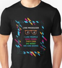 LINE PRODUCER Unisex T-Shirt