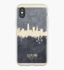 Cleveland Ohio Skyline iPhone Case