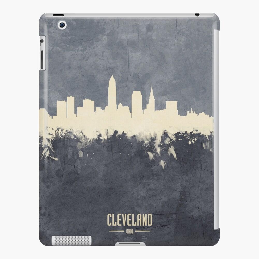 Horizonte de Cleveland Ohio Funda y vinilo para iPad