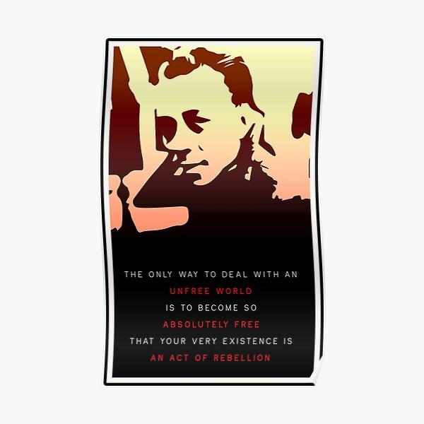Albert Camus Poster
