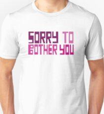 Sorry To Bother You Movie  Unisex T-Shirt