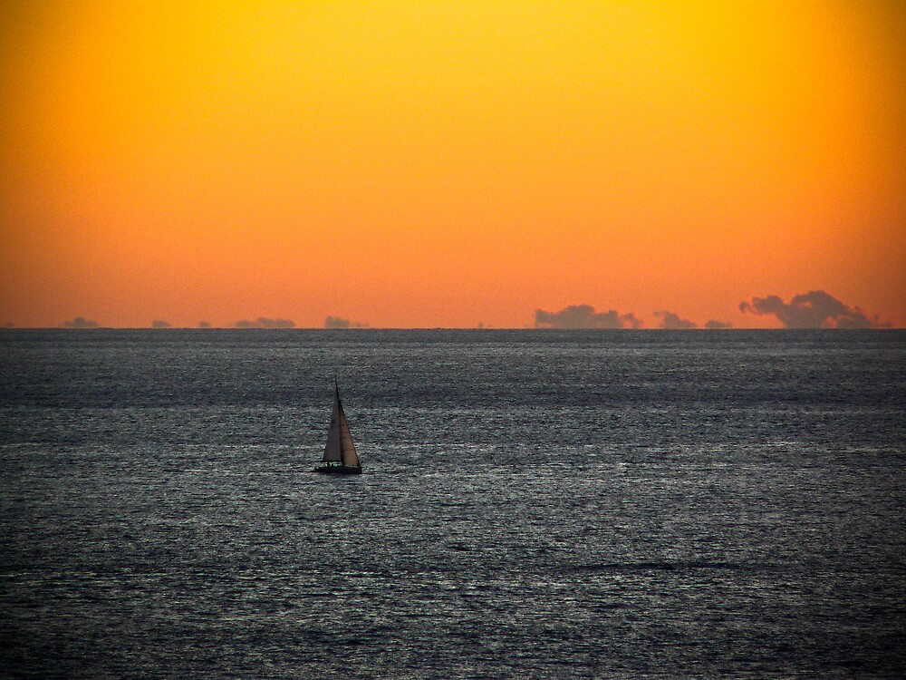 Sailboat by Daniel Peut