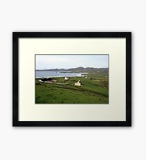 Allihies village Framed Print