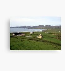 Allihies village Canvas Print
