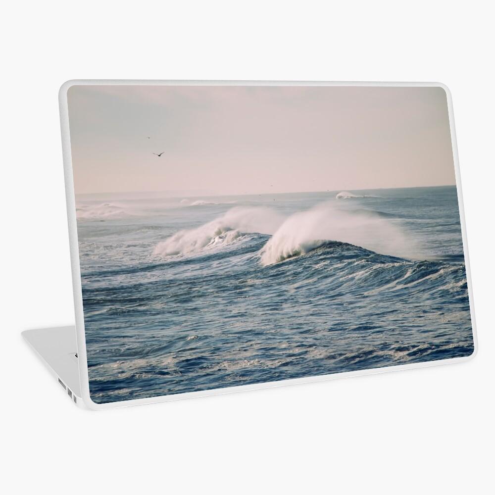 stormy waters Laptop Skin