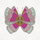 Pink Butterfly by artlovepassion
