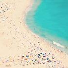 beach love III - Nazare by Ingrid Beddoes