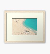 beach love III  Framed Print