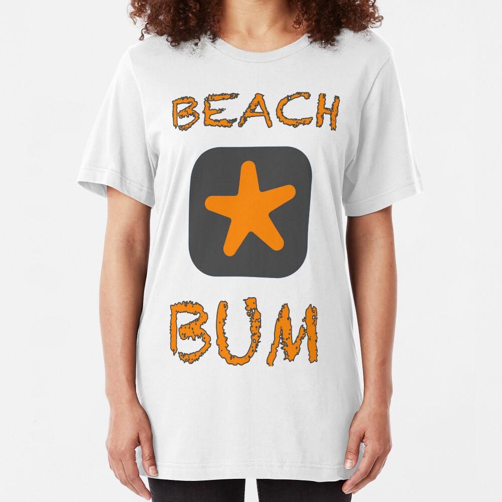 Beach Bum Slim Fit T-Shirt