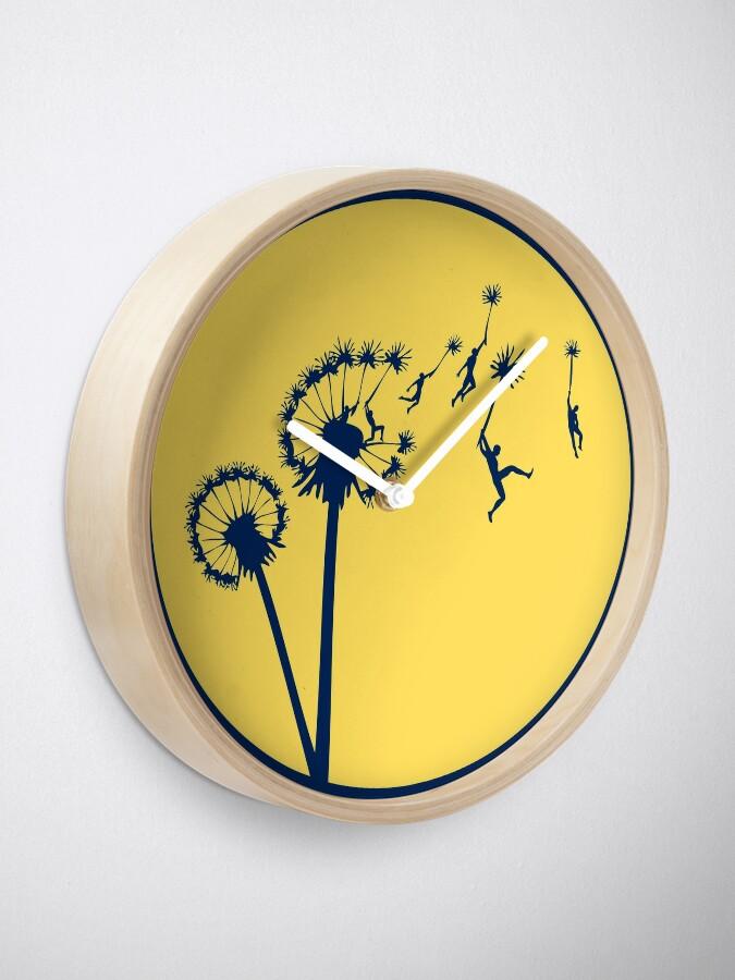 Alternate view of Dandylion Flight - Reversed Circular Clock