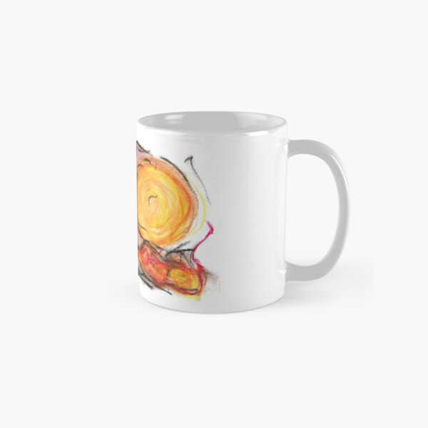 abstract oil pastel piece Classic Mug