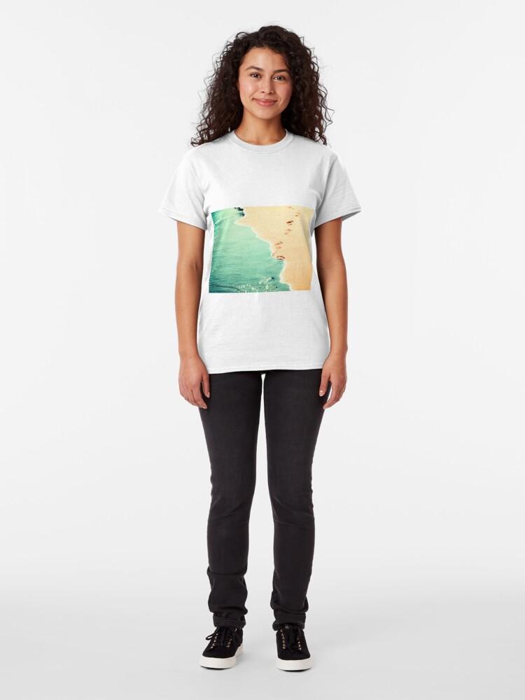 Alternate view of summer love Classic T-Shirt
