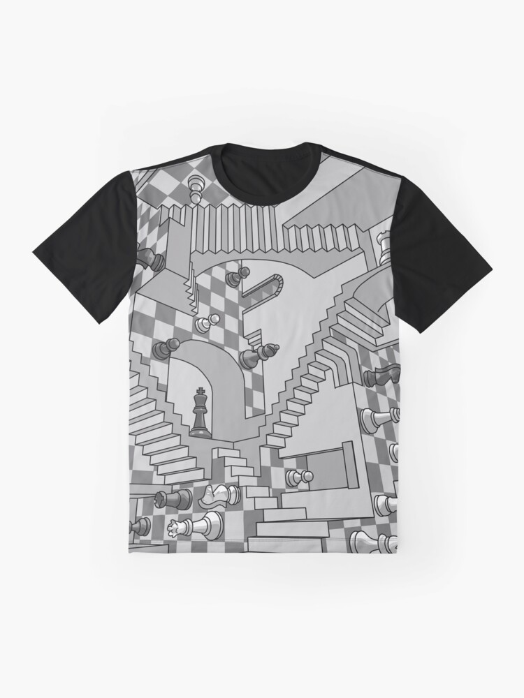 Alternate view of Check Dimension Graphic T-Shirt