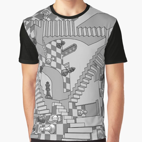 Check Dimension Graphic T-Shirt