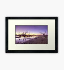 Pamamaroo Sunset Framed Print