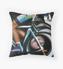 Astana warm up Throw Pillow