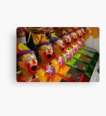 Clown Princes, aka The Brothers Grim Canvas Print