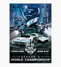 RLCS Season 5 World Championship Poster Photographic Print