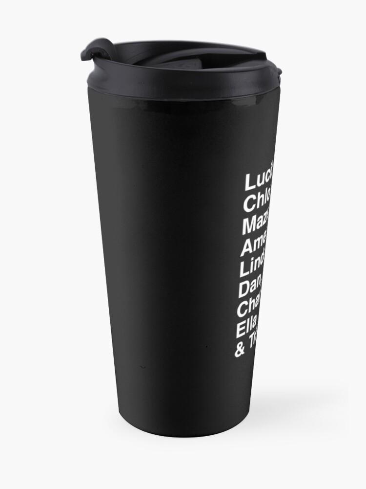 Alternate view of Lucifer Morningstar Travel Mug