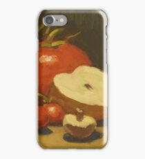 Red tomato still life iPhone Case/Skin