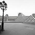 Early Louvre by Victor Pugatschew