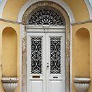 An artistic doorway by Arie Koene