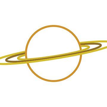 Saturn by nordheimr