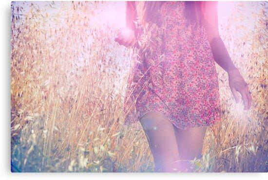 she chose a pink dress by hannamonika