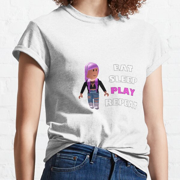 T Shirt Roblox Girl Cute Roblox T Shirts Redbubble