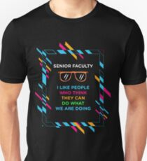 SENIOR FACULTY Unisex T-Shirt