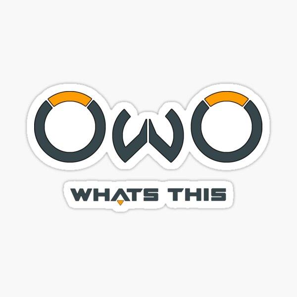 OwOwatch Dark Sticker