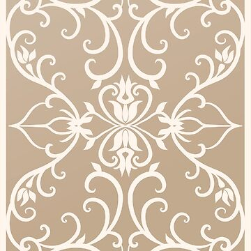 Baroque, Renaissance flowers pattern by eszadesign