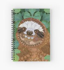 Sloth Spiral Notebook
