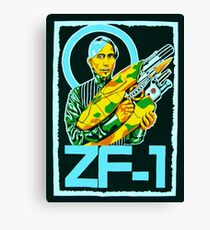 Zorg and the ZF-1 Canvas Print