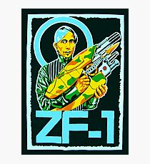 Zorg and the ZF-1 Photographic Print