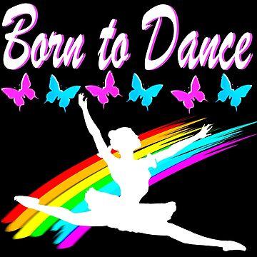 BEAUTIFUL BORN TO DANCE BALLERINA by JLPOriginals