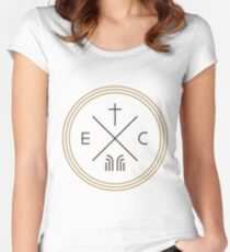 Exodus Seal only - dark letters Women's Fitted Scoop T-Shirt