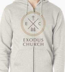 Exodus Seal - dark letters Zipped Hoodie