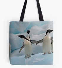 Penguins on an Iceberg Tote Bag